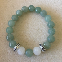 Heather Stanworth Aventurine Rainbow Moonstone £12.99