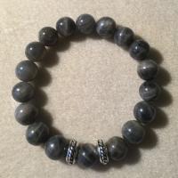 Heather Stanworth Mens Labradorite Bracelet £21.99